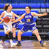 Hamilton College guard Kendall Rallins (10)<br /> <br /> 1/12/19 3:08:11 PM Women's Basketball:  Connecticut College v Hamilton College at Margaret Bundy Scott Field House, Hamilton College, Clinton, NY<br /> <br /> Final:  Conn  62  Hamilton 53<br /> <br /> Photo by Josh McKee