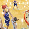 Hamilton College G/F Halie Serbent (32)<br /> <br /> 1/12/19 4:02:57 PM Women's Basketball:  Connecticut College v Hamilton College at Margaret Bundy Scott Field House, Hamilton College, Clinton, NY<br /> <br /> Final:  Conn  62  Hamilton 53<br /> <br /> Photo by Josh McKee