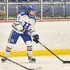 Hamilton College forward Michaela Giuttari (8)<br /> <br /> 1/22/19 6:07:30 PM Women's Hockey:  Wesleyan University v Hamilton College at Russell Sage Rink, Hamilton College, Clinton, NY<br /> <br /> Final:  Wesleyan  2  Hamilton 2<br /> <br /> Photo by Josh McKee