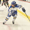 Hamilton College defender Taegan Blackwell (16)<br /> <br /> 1/22/19 6:06:01 PM Women's Hockey:  Wesleyan University v Hamilton College at Russell Sage Rink, Hamilton College, Clinton, NY<br /> <br /> Final:  Wesleyan  2  Hamilton 2<br /> <br /> Photo by Josh McKee