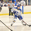 Hamilton College forward Michaela Giuttari (8)<br /> <br /> 1/22/19 6:04:07 PM Women's Hockey:  Wesleyan University v Hamilton College at Russell Sage Rink, Hamilton College, Clinton, NY<br /> <br /> Final:  Wesleyan  2  Hamilton 2<br /> <br /> Photo by Josh McKee