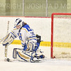 Hamilton College goaltender Sidney Molnar (30)<br /> <br /> 1/22/19 5:35:35 PM Women's Hockey:  Wesleyan University v Hamilton College at Russell Sage Rink, Hamilton College, Clinton, NY<br /> <br /> Final:  Wesleyan  2  Hamilton 2<br /> <br /> Photo by Josh McKee