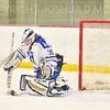 Hamilton College goaltender Sidney Molnar (30)<br /> <br /> 1/22/19 5:35:35 PM Women's Hockey:  Wesleyan University v Hamilton College at Russell Sage Rink, Hamilton College, Clinton, NY<br /> <br /> Final:  Wesleyan  2  Hamilton 2<br /> <br /> Photo by Josh McKee