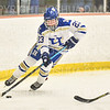 Hamilton College forward Maddie Beitler (23)<br /> <br /> 1/22/19 6:08:57 PM Women's Hockey:  Wesleyan University v Hamilton College at Russell Sage Rink, Hamilton College, Clinton, NY<br /> <br /> Final:  Wesleyan  2  Hamilton 2<br /> <br /> Photo by Josh McKee