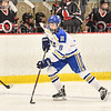 Hamilton College forward Michaela Giuttari (8)<br /> <br /> 1/22/19 6:07:29 PM Women's Hockey:  Wesleyan University v Hamilton College at Russell Sage Rink, Hamilton College, Clinton, NY<br /> <br /> Final:  Wesleyan  2  Hamilton 2<br /> <br /> Photo by Josh McKee