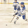 Hamilton College forward Missy Segall (15)<br /> <br /> 1/22/19 6:04:09 PM Women's Hockey:  Wesleyan University v Hamilton College at Russell Sage Rink, Hamilton College, Clinton, NY<br /> <br /> Final:  Wesleyan  2  Hamilton 2<br /> <br /> Photo by Josh McKee