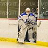 Hamilton College goaltender Sammy Johnson (35)<br /> <br /> 11/17/18 6:56:39 PM Women's Hockey:  Williams College v Hamilton College at Russell Sage Rink, Hamilton College, Clinton, NY<br /> <br /> Final:  Williams  4  Hamilton 3<br /> <br /> Photo by Josh McKee
