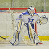 Hamilton College goaltender Sidney Molnar (30)<br /> <br /> 11/17/18 8:46:57 PM Women's Hockey:  Williams College v Hamilton College at Russell Sage Rink, Hamilton College, Clinton, NY<br /> <br /> Final:  Williams  4  Hamilton 3<br /> <br /> Photo by Josh McKee