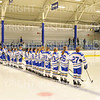 Team<br /> <br /> 11/17/18 7:01:09 PM Women's Hockey:  Williams College v Hamilton College at Russell Sage Rink, Hamilton College, Clinton, NY<br /> <br /> Final:  Williams  4  Hamilton 3<br /> <br /> Photo by Josh McKee