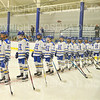 Team<br /> <br /> 11/17/18 6:59:07 PM Women's Hockey:  Williams College v Hamilton College at Russell Sage Rink, Hamilton College, Clinton, NY<br /> <br /> Final:  Williams  4  Hamilton 3<br /> <br /> Photo by Josh McKee