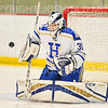 Hamilton College goaltender Sidney Molnar (30)<br /> <br /> 11/17/18 6:28:06 PM Women's Hockey:  Williams College v Hamilton College at Russell Sage Rink, Hamilton College, Clinton, NY<br /> <br /> Final:  Williams  4  Hamilton 3<br /> <br /> Photo by Josh McKee