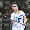 Hamilton College attacker Olivia Seymour (9)<br /> <br /> 3/30/19 11:10:49 AM Women's Lacrosse: #21 Bates College v Hamilton College, at Steuben Field, Hamilton College, Clinton, NY<br /> <br /> Final: #21 Bates 10   Hamilton 8  <br /> <br /> Photo by Josh McKee