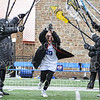 Hamilton College defender Meaghan Parlee (29)<br /> <br /> 3/16/19 12:09:03 PM Women's Lacrosse: #14 Bowdoin College v Hamilton College, at Steuben Field, Hamilton College, Clinton, NY<br /> <br /> Final: Bowdoin 13   Hamilton 14<br /> <br /> Photo by Josh McKee