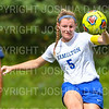 Hamilton College defender Cassie Hayward (5)<br /> <br /> 9/22/18 11:53:34 AM Women's Soccer:  Connecticut College vs Hamilton College, at Love Field, Hamilton College, Clinton NY<br /> <br /> Final:  Conn 1    Hamilton 2<br /> <br /> Photo by Josh McKee