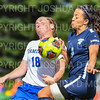 Hamilton College M Katie Tenefrancia (18)<br /> <br /> 9/22/18 11:12:00 AM Women's Soccer:  Connecticut College vs Hamilton College, at Love Field, Hamilton College, Clinton NY<br /> <br /> Final:  Conn 1    Hamilton 2<br /> <br /> Photo by Josh McKee