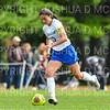 Hamilton College defender Katie McKillop (13)<br /> <br /> 9/22/18 12:35:55 PM Women's Soccer:  Connecticut College vs Hamilton College, at Love Field, Hamilton College, Clinton NY<br /> <br /> Final:  Conn 1    Hamilton 2<br /> <br /> Photo by Josh McKee