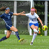 Hamilton College defender Liz Mathis (6)<br /> <br /> 9/22/18 11:54:52 AM Women's Soccer:  Connecticut College vs Hamilton College, at Love Field, Hamilton College, Clinton NY<br /> <br /> Final:  Conn 1    Hamilton 2<br /> <br /> Photo by Josh McKee