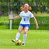 Hamilton College defender Liz Mathis (6)<br /> <br /> 9/22/18 12:36:09 PM Women's Soccer:  Connecticut College vs Hamilton College, at Love Field, Hamilton College, Clinton NY<br /> <br /> Final:  Conn 1    Hamilton 2<br /> <br /> Photo by Josh McKee