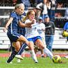 Hamilton College M Kayleigh Harris (3)<br /> <br /> 9/22/18 12:46:12 PM Women's Soccer:  Connecticut College vs Hamilton College, at Love Field, Hamilton College, Clinton NY<br /> <br /> Final:  Conn 1    Hamilton 2<br /> <br /> Photo by Josh McKee