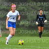 Hamilton College defender Liz Mathis (6)<br /> <br /> 9/22/18 11:54:50 AM Women's Soccer:  Connecticut College vs Hamilton College, at Love Field, Hamilton College, Clinton NY<br /> <br /> Final:  Conn 1    Hamilton 2<br /> <br /> Photo by Josh McKee
