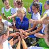 Hamilton College head coach Colette Gilligan, Team<br /> <br /> 9/22/18 11:06:12 AM Women's Soccer:  Connecticut College vs Hamilton College, at Love Field, Hamilton College, Clinton NY<br /> <br /> Final:  Conn 1    Hamilton 2<br /> <br /> Photo by Josh McKee