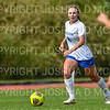 Hamilton College defender Kristin Hughes (4)<br /> <br /> 9/22/18 11:42:32 AM Women's Soccer:  Connecticut College vs Hamilton College, at Love Field, Hamilton College, Clinton NY<br /> <br /> Final:  Conn 1    Hamilton 2<br /> <br /> Photo by Josh McKee