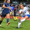 Hamilton College M Kayleigh Harris (3)<br /> <br /> 9/22/18 11:29:12 AM Women's Soccer:  Connecticut College vs Hamilton College, at Love Field, Hamilton College, Clinton NY<br /> <br /> Final:  Conn 1    Hamilton 2<br /> <br /> Photo by Josh McKee