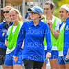 Hamilton College head coach Colette Gilligan<br /> <br /> 9/22/18 12:39:47 PM Women's Soccer:  Connecticut College vs Hamilton College, at Love Field, Hamilton College, Clinton NY<br /> <br /> Final:  Conn 1    Hamilton 2<br /> <br /> Photo by Josh McKee