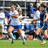 Hamilton College forward Cat Gambino (2)<br /> <br /> 9/22/18 12:57:14 PM Women's Soccer:  Connecticut College vs Hamilton College, at Love Field, Hamilton College, Clinton NY<br /> <br /> Final:  Conn 1    Hamilton 2<br /> <br /> Photo by Josh McKee