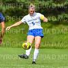 Hamilton College defender Cassie Hayward (5)<br /> <br /> 9/22/18 11:53:34 AM Women's Soccer:  Connecticut College vs Hamilton College, at Love Field, Hamilton College, Clinton NY<br /> <br /> Final:  Conn 1    Hamilton 2<br /> <br /> Photo by Josh McKee