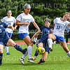 Hamilton College M Maddie Dale (16), Hamilton College M Alex Fontana (11)<br /> <br /> 9/22/18 12:13:16 PM Women's Soccer:  Connecticut College vs Hamilton College, at Love Field, Hamilton College, Clinton NY<br /> <br /> Final:  Conn 1    Hamilton 2<br /> <br /> Photo by Josh McKee
