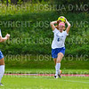 Hamilton College defender Liz Mathis (6)<br /> <br /> 9/22/18 12:12:14 PM Women's Soccer:  Connecticut College vs Hamilton College, at Love Field, Hamilton College, Clinton NY<br /> <br /> Final:  Conn 1    Hamilton 2<br /> <br /> Photo by Josh McKee