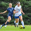 Hamilton College M Olivia Rodrigues (15)<br /> <br /> 9/22/18 12:18:54 PM Women's Soccer:  Connecticut College vs Hamilton College, at Love Field, Hamilton College, Clinton NY<br /> <br /> Final:  Conn 1    Hamilton 2<br /> <br /> Photo by Josh McKee