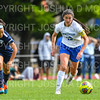 Hamilton College defender Katie McKillop (13)<br /> <br /> 9/22/18 12:35:59 PM Women's Soccer:  Connecticut College vs Hamilton College, at Love Field, Hamilton College, Clinton NY<br /> <br /> Final:  Conn 1    Hamilton 2<br /> <br /> Photo by Josh McKee