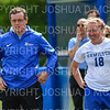 Hamilton College assistant coach Bobby Kane, Hamilton College M Katie Tenefrancia (18)<br /> <br /> 9/22/18 12:13:06 PM Women's Soccer:  Connecticut College vs Hamilton College, at Love Field, Hamilton College, Clinton NY<br /> <br /> Final:  Conn 1    Hamilton 2<br /> <br /> Photo by Josh McKee