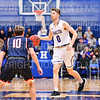Hamilton College guard Tim Doyle (0)<br /> <br /> 3/1/19 7:56:24 PM 2019 NCAA DIII Men's Basketball Championship First Round:  Penn State-Behrend v #10 Hamilton College College at Margaret Bundy Scott Field House, Hamilton College, Clinton, NY<br /> <br /> Final:  Penn State-Behrend 70   Hamilton 72 <br /> <br /> Photo by Josh McKee