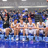 Hamilton College guard Tim Doyle (0), Hamilton College guard Kena Gilmour (24), Hamilton College G/F Peter Hoffmann (30), Hamilton College G/F Michael Grassey (11), Hamilton College forward Andrew Groll (44)<br /> <br /> 3/1/19 7:52:43 PM 2019 NCAA DIII Men's Basketball Championship First Round:  Penn State-Behrend v #10 Hamilton College College at Margaret Bundy Scott Field House, Hamilton College, Clinton, NY<br /> <br /> Final:  Penn State-Behrend 70   Hamilton 72 <br /> <br /> Photo by Josh McKee