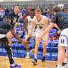 Hamilton College guard Tim Doyle (0)<br /> <br /> 3/1/19 7:54:29 PM 2019 NCAA DIII Men's Basketball Championship First Round:  Penn State-Behrend v #10 Hamilton College College at Margaret Bundy Scott Field House, Hamilton College, Clinton, NY<br /> <br /> Final:  Penn State-Behrend 70   Hamilton 72 <br /> <br /> Photo by Josh McKee