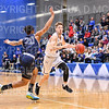 Hamilton College guard Tim Doyle (0)<br /> <br /> 3/2/19 7:04:44 PM 2019 NCAA DIII Men's Basketball Championship Second Round:  Moravian College v #10 Hamilton College College at Margaret Bundy Scott Field House, Hamilton College, Clinton, NY<br /> <br /> Final:  Moravian 72   Hamilton 83 <br /> <br /> Photo by Josh McKee