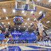 Hamilton College guard Tim Doyle (0)<br /> <br /> 3/2/19 7:04:44 PM 2019 NCAA DIII Men's Basketball Championship Second Round:  Moravian College v #10 Hamilton College College at Margaret Bundy Scott Field House, Hamilton College, Clinton, NY<br /> <br /> Final:  Moravian 72   Hamilton 83 <br /> <br /> Photo by Josh McKee