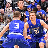 Hamilton College G/F Peter Hoffmann (30)<br /> <br /> 3/8/19 7:55:55 PM 2019 NCAA DIII Men's Basketball Championship Third Rd:  #9 Christopher Newport University v #10 Hamilton College at Margaret Bundy Scott Field House, Hamilton College, Clinton, NY<br /> <br /> Final:  CNU 75   Hamilton 67  <br /> <br /> Photo by Josh McKee