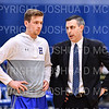 Hamilton College G/F Peter Hoffmann (30), Hamilton College head coach Adam Stockwell<br /> <br /> 3/8/19 7:51:49 PM 2019 NCAA DIII Men's Basketball Championship Third Rd:  #9 Christopher Newport University v #10 Hamilton College at Margaret Bundy Scott Field House, Hamilton College, Clinton, NY<br /> <br /> Final:  CNU 75   Hamilton 67  <br /> <br /> Photo by Josh McKee