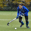 Hamilton College defender Sarah Kane (12)<br /> <br /> 10/27/18 12:36:27 PM NESCAC Field Hockey Championship Quarterfinals:  #17 Trinity College vs #14 Hamilton College, at Goodfriend Field, Hamilton College, Clinton, NY<br /> <br /> Final:  Trinity 2   Hamilton 0<br /> <br /> Photo by Josh McKee