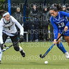 Hamilton College forward Sarah Stinebaugh (19)<br /> <br /> 10/27/18 12:40:23 PM NESCAC Field Hockey Championship Quarterfinals:  #17 Trinity College vs #14 Hamilton College, at Goodfriend Field, Hamilton College, Clinton, NY<br /> <br /> Final:  Trinity 2   Hamilton 0<br /> <br /> Photo by Josh McKee