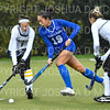 Hamilton College forward Sarah Stinebaugh (19)<br /> <br /> 10/27/18 12:40:25 PM NESCAC Field Hockey Championship Quarterfinals:  #17 Trinity College vs #14 Hamilton College, at Goodfriend Field, Hamilton College, Clinton, NY<br /> <br /> Final:  Trinity 2   Hamilton 0<br /> <br /> Photo by Josh McKee