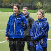 Hamilton College head coach Melissa Mariano, Hamilton College assistant coach Bre Lowe<br /> <br /> 10/27/18 12:30:46 PM NESCAC Field Hockey Championship Quarterfinals:  #17 Trinity College vs #14 Hamilton College, at Goodfriend Field, Hamilton College, Clinton, NY<br /> <br /> Final:  Trinity 2   Hamilton 0<br /> <br /> Photo by Josh McKee
