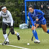 Hamilton College forward Sarah Stinebaugh (19)<br /> <br /> 10/27/18 12:40:24 PM NESCAC Field Hockey Championship Quarterfinals:  #17 Trinity College vs #14 Hamilton College, at Goodfriend Field, Hamilton College, Clinton, NY<br /> <br /> Final:  Trinity 2   Hamilton 0<br /> <br /> Photo by Josh McKee