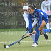 Hamilton College forward Sarah Stinebaugh (19)<br /> <br /> 10/27/18 12:48:19 PM NESCAC Field Hockey Championship Quarterfinals:  #17 Trinity College vs #14 Hamilton College, at Goodfriend Field, Hamilton College, Clinton, NY<br /> <br /> Final:  Trinity 2   Hamilton 0<br /> <br /> Photo by Josh McKee