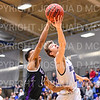 Hamilton College guard Tim Doyle (0)<br /> <br /> 2/24/19 12:07:25 PM NESCAC 2019 Men's Basketball Finals:  #13 Amherst College v #8 Hamilton College at Margaret Bundy Scott Field House, Hamilton College, Clinton, NY<br /> <br /> Final:  Amherst 62   Hamilton 56 <br /> <br /> Photo by Josh McKee