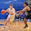 Hamilton College G/F Peter Hoffmann (30)<br /> <br /> 2/24/19 12:05:30 PM NESCAC 2019 Men's Basketball Finals:  #13 Amherst College v #8 Hamilton College at Margaret Bundy Scott Field House, Hamilton College, Clinton, NY<br /> <br /> Final:  Amherst 62   Hamilton 56 <br /> <br /> Photo by Josh McKee